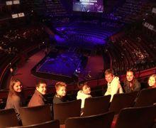 Music scholars visit london