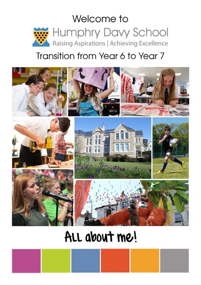 Yr6 7 transition booklet 2020 cover Page 01