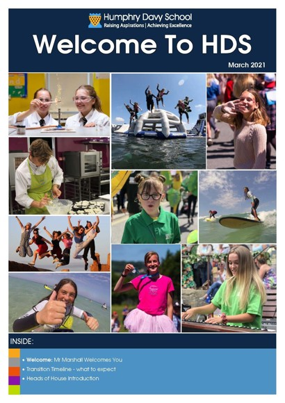 Year 6 Transition Newsletter 2021   cover Page 1